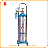 Hospital aluminum bottle series portable medical oxygen cylinder