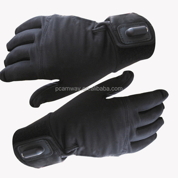 2018 hot sales winter newest motorcycle bicycle battery heated gloves