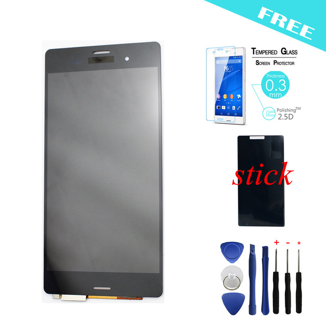 For Sony Xperia Z3 LCD D6603 D6653 L55t LCD Display Touch Screen with Digitizer Assembly + Adhesive + Tools + Film
