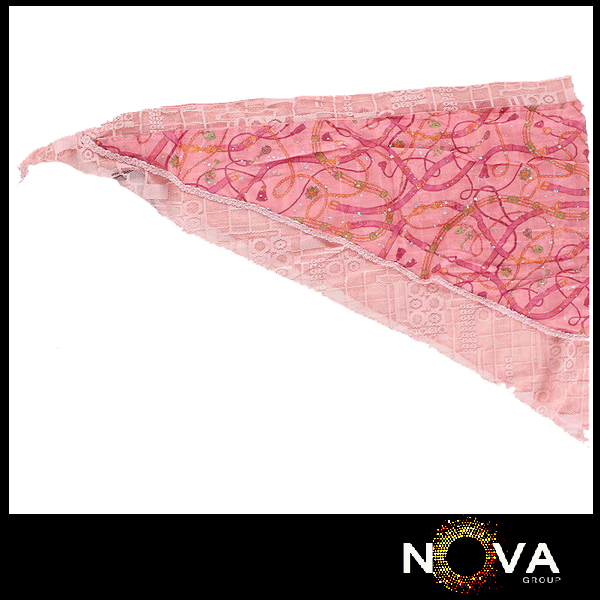 Fake designer alibaba lace triangle scarves