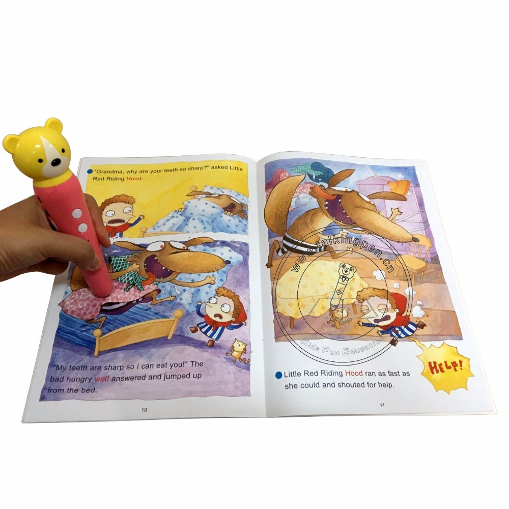 Kids English Custom Coloring Book Educational Toys Kids School Books Printing With Magic Talking Pen Buy Talking Pen Educational Toys Kids English