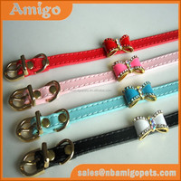 high quality crystal rhinestone dog collar puppy colours