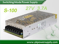 LED Driver27V 100W Constant Voltage LED Driver With Rainproof Led Power Supply