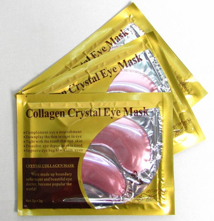 Private Label Beauty skin care red wine collagen masks hydrogel eye patch mask from china supplier