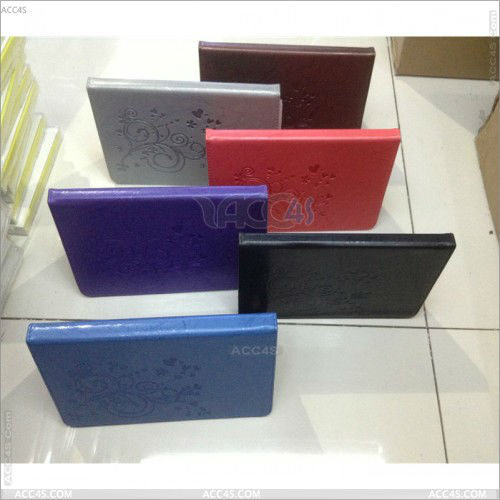 New Magnetic PU Leather Folio Stand Case Cover with Stylus Holder for iPad Mini P-iPDMINICASE110