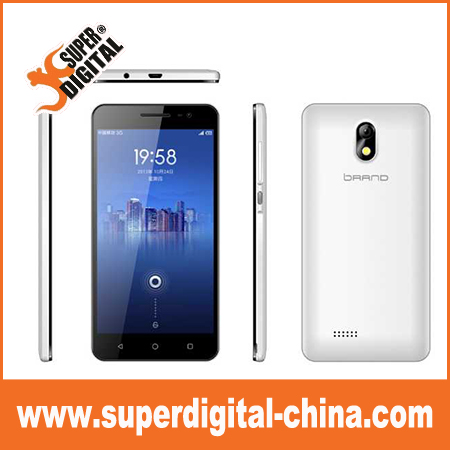Cheap QHD SPD7731 Quad core 5.5inch 3G smartphone with 1GB RAM+8GB ROM