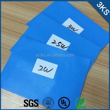 Silicone Gap Filler Thermal Pad For Semiconductors, LED Lighting and Drivers, Telecom Devices, Integrated Circuits