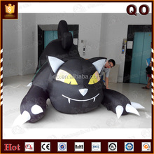 Giant durable cartoon cat halloween decoration inflatable animal