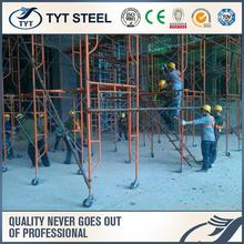 formwork system gravity locks construction steel props gate shaped scaffolding.