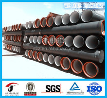 ductile iron pipe with spigot and socket joints