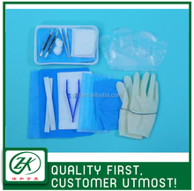 basic medical wound dressing material set