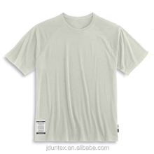 cotton short sleeve blank t-shirt