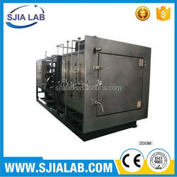 SJIA-500F freeze drying machine with shelf area of 2-10 m2 15-80KG capacity for pharmaceutical freeze dryer lyophiliser