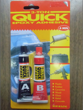 quick and strong adhesive for household and industry use 4 minutes Epoxy Steel