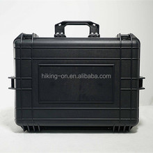 Most Popular Handle Case/Hard Plastic Tool Box with trolley wheels No.HTC022-2