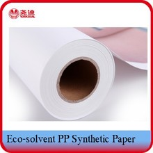 Waterproof Printing Materials White Synthetic Paper