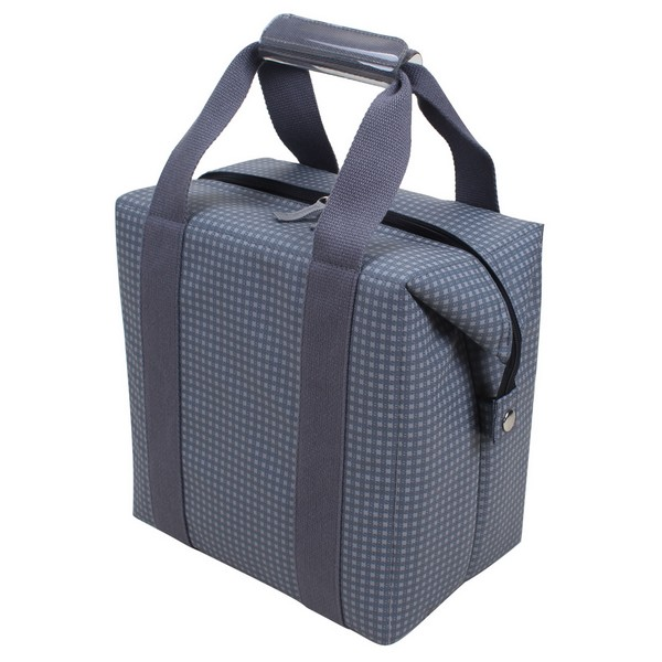Soft Cooler Bag with Aluminum Thermal Liner JN 1335 Can Picnic Cooler Bag Collapsible Market Bag Cooler