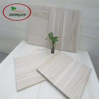 edge glued paulownia jointed board solid wood