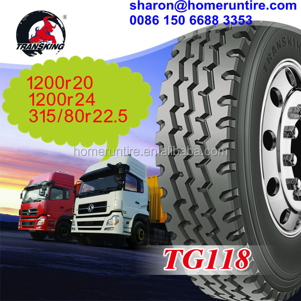 GSO China Manufacturerer Truck Tyre 315/80r22.5 for sale,TRANSKING 1200R20,1200R24 tire,385/65R22.5 for Middle East/Africa