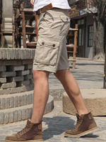 2016 new style mens cargo shorts of pure cotton