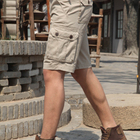 new style Grey mens cargo shorts of pure cotton