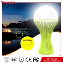 New unique product ideas camping energy saving rechargeable handy light bulb