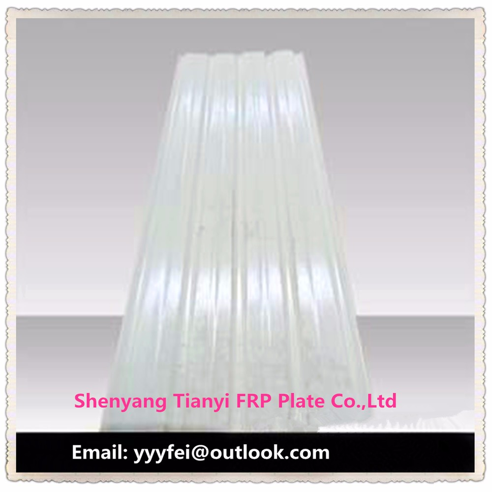 Uv panel roofing , FRP sheet, clear plastic roof ,