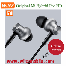 Hot selling for Original Xiaomi Hybrid Pro HD Earphone In-Ear Circle Iron Wired Control With Mic for Xiaomi Redmi Mi Mobile Pho