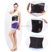 light breathable fitness waist support belt waist trimmer