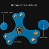 anxiety relife toys fidget spinner anti-stress toys hand spinner