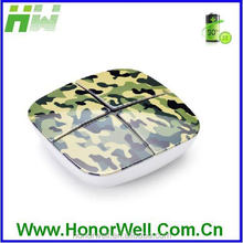 Private ROHS Power Bank 2600mAh HW-PB-8S(Camouflage color, Matt Surface)