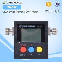 Hot Sale SURECOM SW-102 125-525MHz VHF/UHF 120W Digital Power & SWR Meter with RF Adaptor