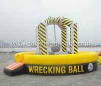 new designed inflatable wrecking ballZ5020