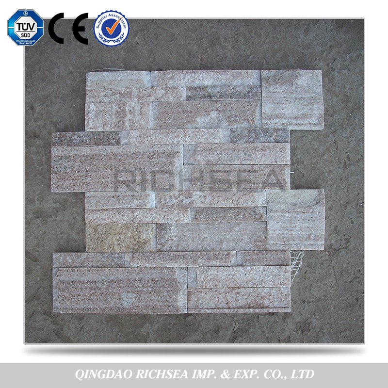White Wooden Cultural Stone Decorative Wall Stone