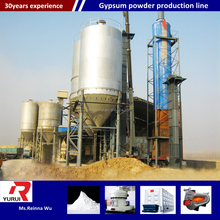 New technology plaster of paris plant equipment/Industrial gypsum powder production line with ISO approval