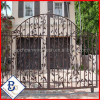 Galvanized Tubular steel Fencing gates for 20 years warranty