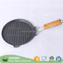 Manufacturer supply seasoned cast iron grill pan Frying Pans