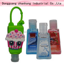 napkin decoupage (3D Mini hand sanitizer/perfume bottle holder )