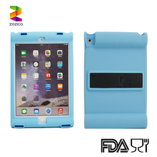 Shockproof Soft Silicone Rubber Stand Cover Case for iPad Mini/2 3 4/Air/Air 2