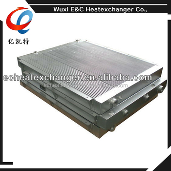 plate-fin air cooler for air/gas screw air compressor
