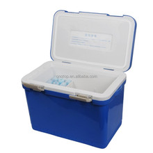 17L Plastic thernal insulation Portable cooler box for camping fishing