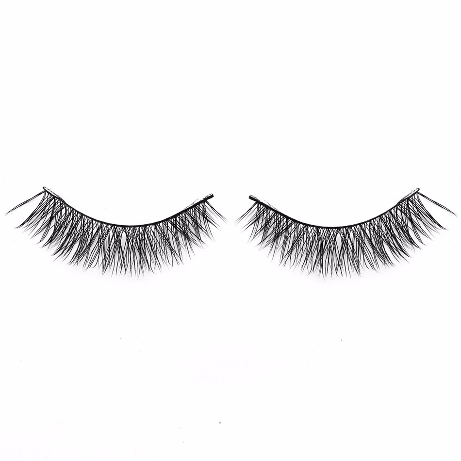 Private label strip volume lashes 3D faux mink eyelashes factory