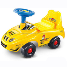 SE97370 Yellow Taxi Type Baby Swing Walk Car