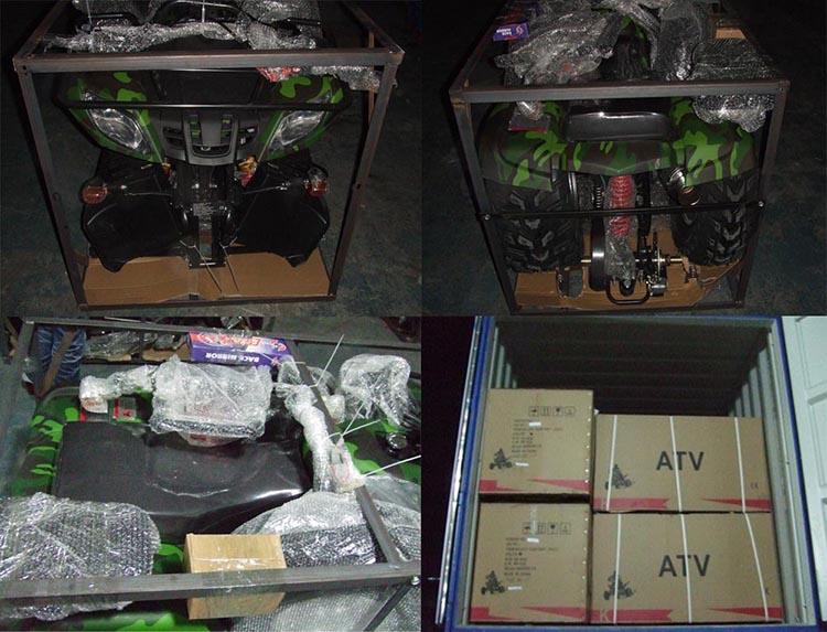 150cc ATV packing