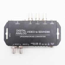Digital analog video audio to HDMI SDI converter analog AV VGA YPbPr S video to HDMI