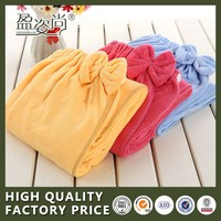 2015 China Cheap Manufactures Of Bath Towel Microfiber Fabric With Bow Bathrobe