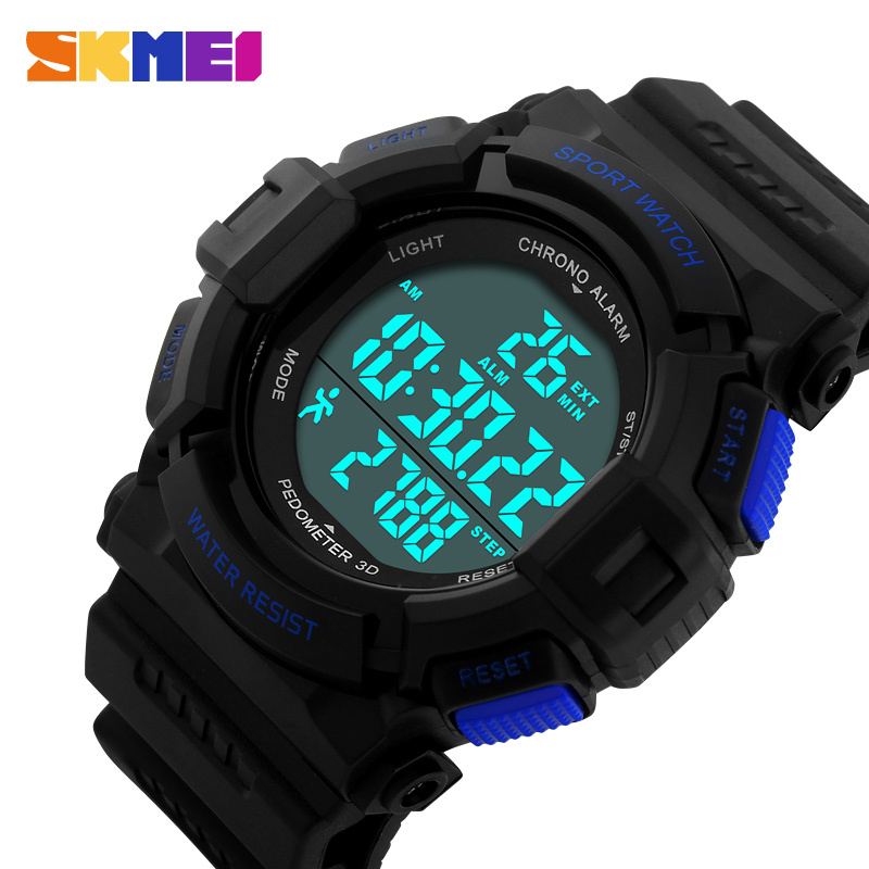 Mens fitness pedometer running smart watches
