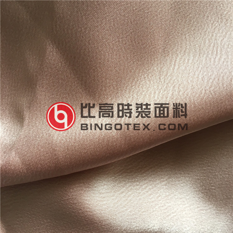 High Weight Satin Chiffon Fabric Good Drape Farbric for Ladies' Garments