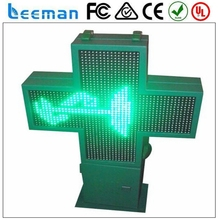 p10 full color outdoor led display board acrylic led light signs arrow cross led traffic signal