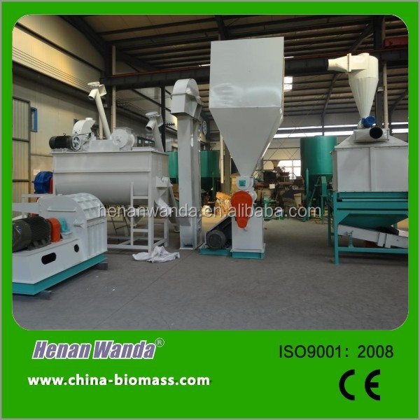 Professional CE Complete Wood Pellet production Line for Sale